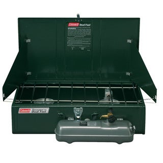 Coleman Powerhouse 414 Two-burner Dual Fuel Stove