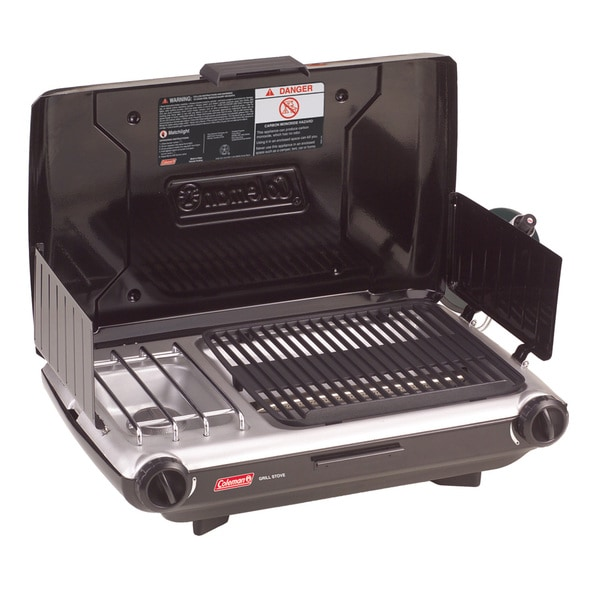Coleman 2-burner Stove Combo Grill