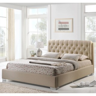 Amelia Button-tufted Contemporary Upholstered Queen-size Bed
