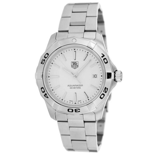 Tag Heuer Men's WAP1111.BA0831 Aquaracer Stainless Steel Watch