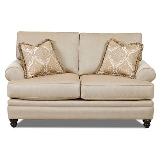 Made to Order Daryn Straw Loveseat