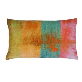 Jiti Fresca Multicolored Cotton 12x20-inch Throw Pillow