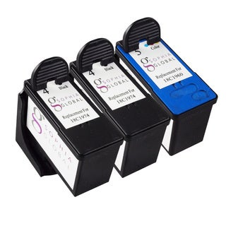 Sophia Global Remanufactured Ink Cartridge for Lexmark 4 and Lexmark 5 (Pack of 3)