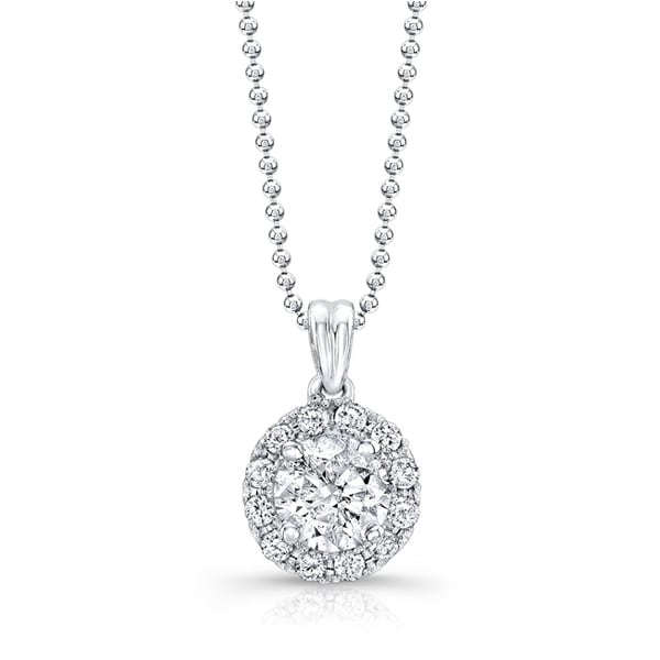ct pin white gold ice diamond pendant solitaire lm tw necklace