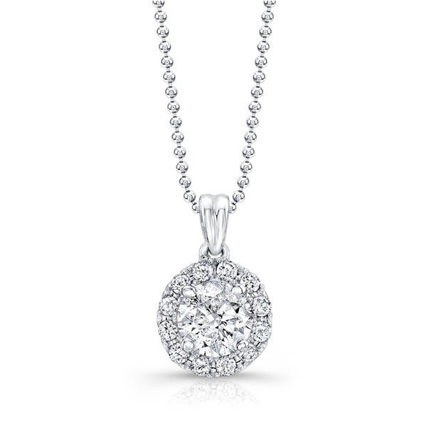 clarity diamond forevermark to necklace yellow color brilliant cttw bail round solitaire double own k pendant rent white gold detail j