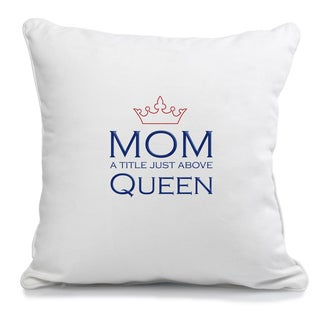 12-inch Square Mother's Day Pillow
