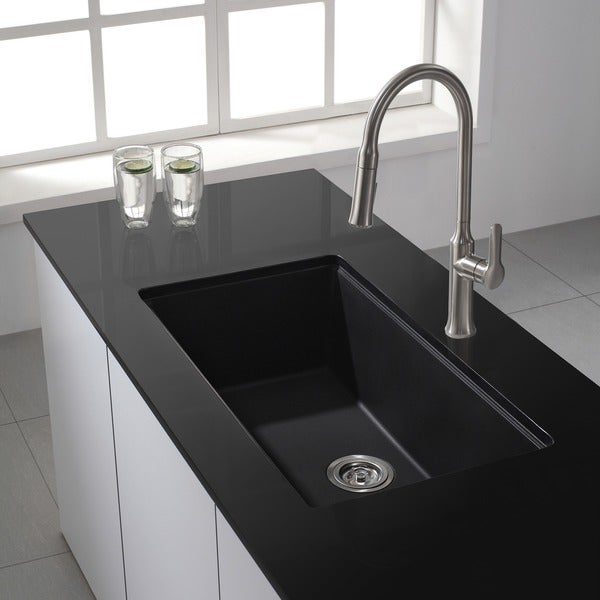 By  Inch Granite Under Mount Kitchen Sink