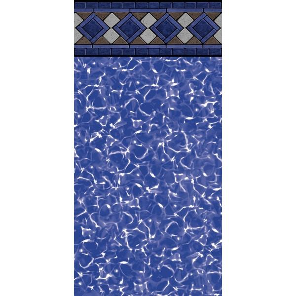 Grand Tile Round Unibead 52-inch Deep Pool Liner