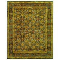 Safavieh Hand-knotted Lavar Blue Wool Rug - 8' x 10'