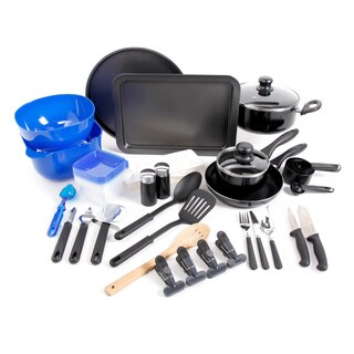 Total Kitchen 59-piece Combo Cookware Set