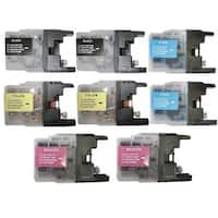 Compatible Brother LC75 Ink Cartridge (Pack of 8)