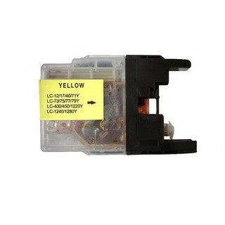 Compatible Brother LC75 Yellow Ink Cartridge