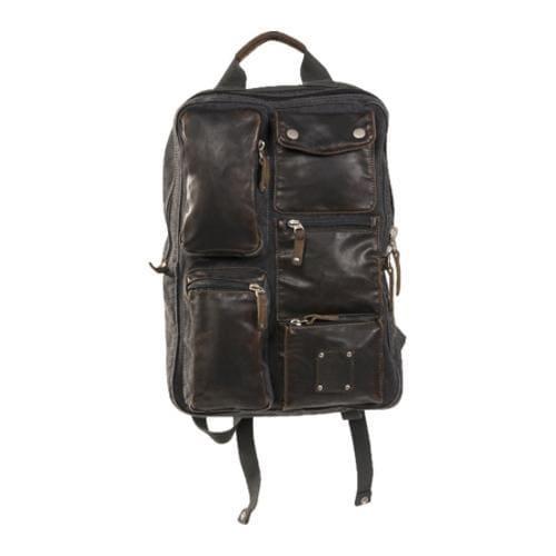 Laurex Stylish Backpack Black - Thumbnail 2