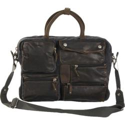Laurex Urban Style Casual Briefcase Black