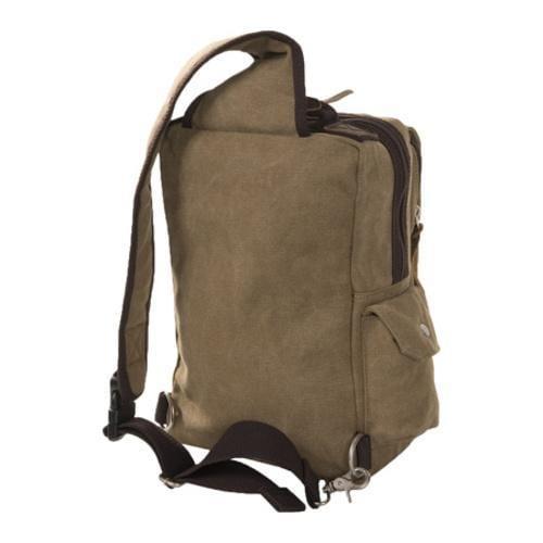 Laurex Khaki Urban Style Sling Backpack - Thumbnail 1