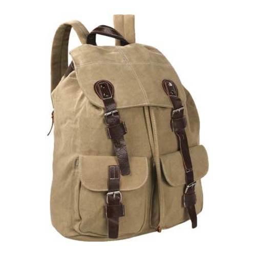 Laurex Vintage Design Backpack 8224 Khaki