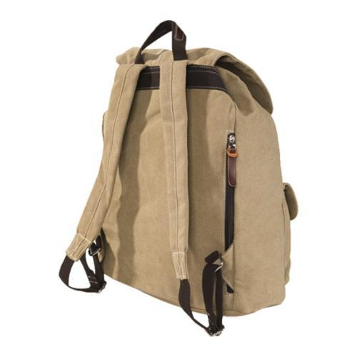 Laurex Vintage Design Backpack 8224 Khaki - Thumbnail 1