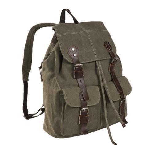 Laurex Vintage Design Backpack 8224 Olive