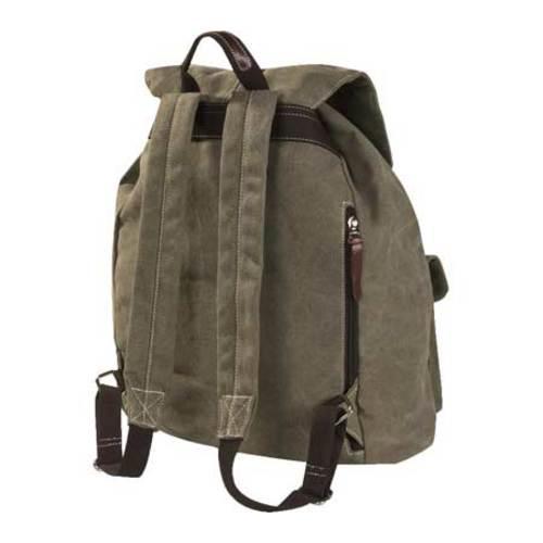 Laurex Vintage Design Backpack 8224 Olive - Thumbnail 1