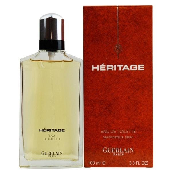 Guerlain Heritage Men's 3.4-ounce Eau de Toilette Spray. Opens flyout.