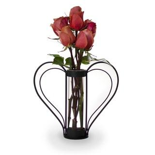 Iron Heart-shaped Sweetheart Flower Vase
