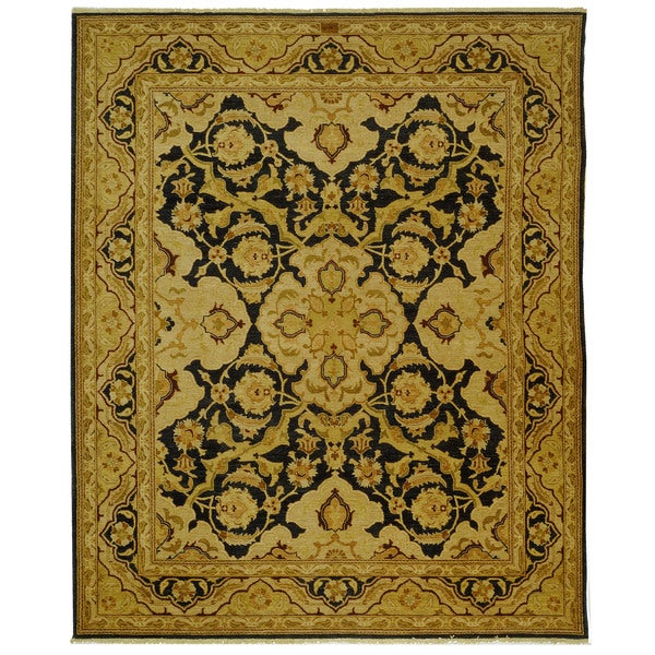 Safavieh Hand-knotted Peshawar Vegetable Dye Multi Wool Rug - 8' x 10'