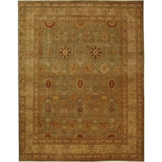 Safavieh Couture Hand-knotted Lavar Grit Traditional Oriental Wool Rug with Fringe