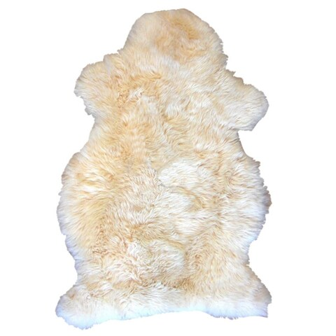 Bowron Babycare Soft Sheepskin Nursery Rug in Champagne