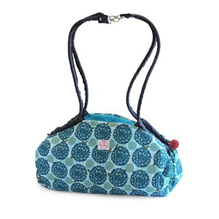 2 Red Hens Toy Nanny Play Mat and Tote in Peacock Mum