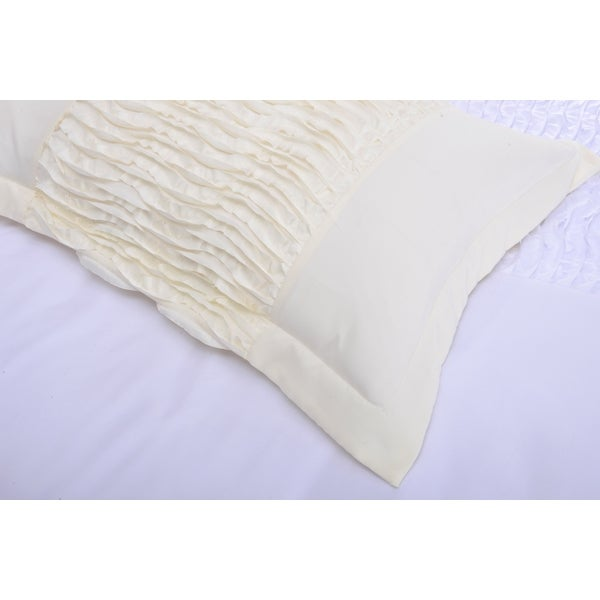 ivory duvet cover twin xl super king full piece microfiber set