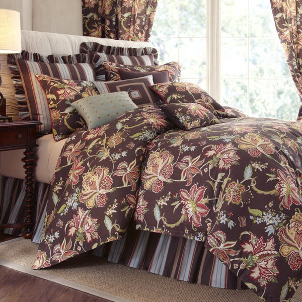 Rose tree mulhouse queen 6 piece comforter set free - Boutique free mulhouse ...