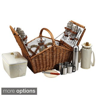 Huntsman 4-person with Coffee Service Picnic Basket