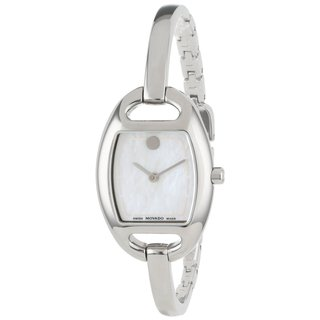 Movado Women's 606606 'Museum' Stainless Steel Bangle Watch