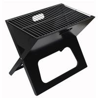 Black Portable Charcoal Grill