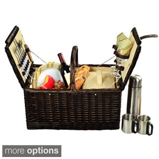 Picnic At Ascot Surrey 2-person with Coffee Service Picnic Basket