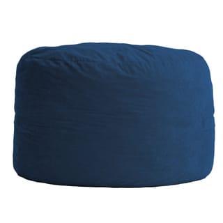 FufSack 3-foot Large Memory Foam/ Microfiber Bean Bag Chair