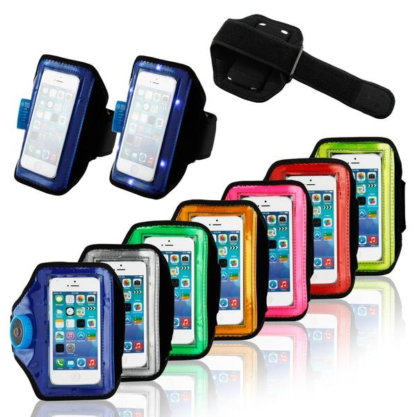 Gearonic LED Light Armband Sportsband for iPhone 4 5 5S 5C