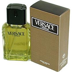 Versace L'Homme by Versace Men's 3.3-ounce Eau de Toilette Spray