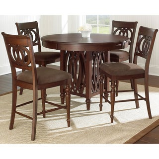 Greyson Living Darby 5-piece Counter Height Dining Set