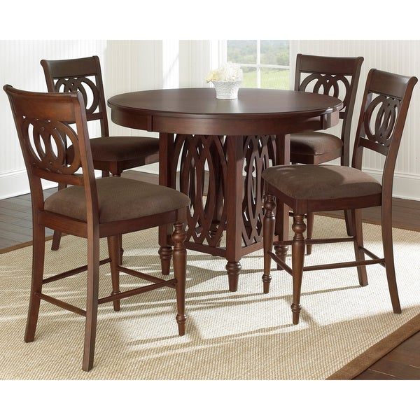 Counter Height Dining Sets On Sale: Shop Darby 5-piece Counter Height Dining Set By Greyson