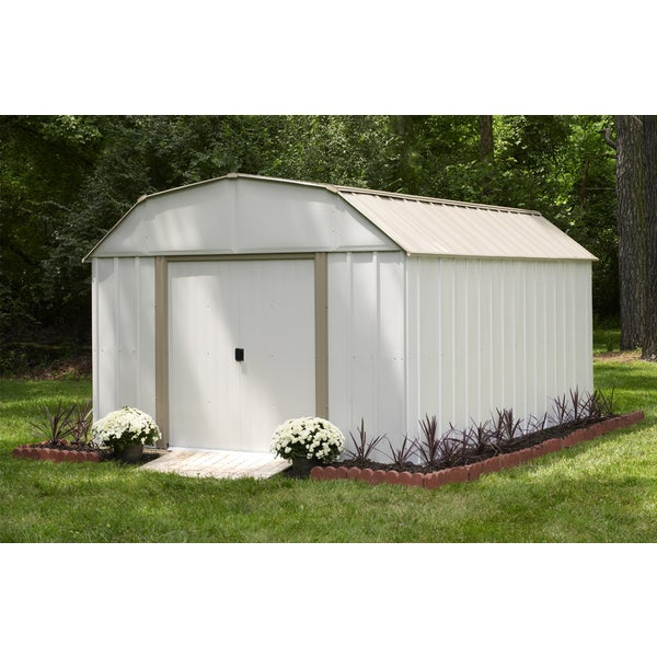 Arrow Lexington 10x14 Foot Storage Shed Free Shipping