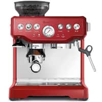 Breville BES870CBXL Barista Express Cranberry Red Espresso Machine