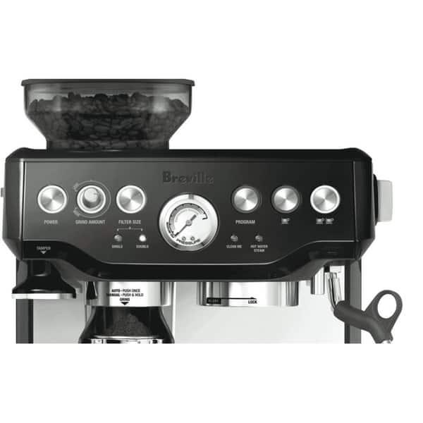 Shop Breville Bes870bsxl Barista Express Black Espresso Machine Overstock 8847081
