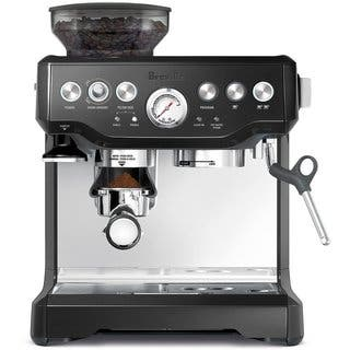 Breville BES870BSXL Barista Express Black Espresso Machine|https://ak1.ostkcdn.com/images/products/8847081/P16076320.jpg?impolicy=medium