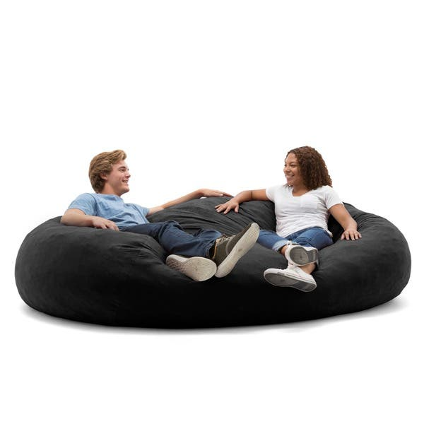 Cool Shop Big Joe Xxl Bean Bag Fuf W Removable Cover On Sale Pabps2019 Chair Design Images Pabps2019Com