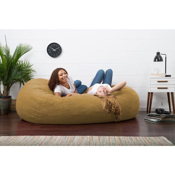 Strange Shop Big Joe Xxl Bean Bag Fuf W Removable Cover On Sale Inzonedesignstudio Interior Chair Design Inzonedesignstudiocom