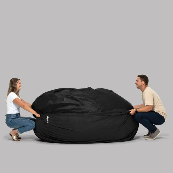 Cool Shop Big Joe Xxl Bean Bag Fuf W Removable Cover On Sale Inzonedesignstudio Interior Chair Design Inzonedesignstudiocom