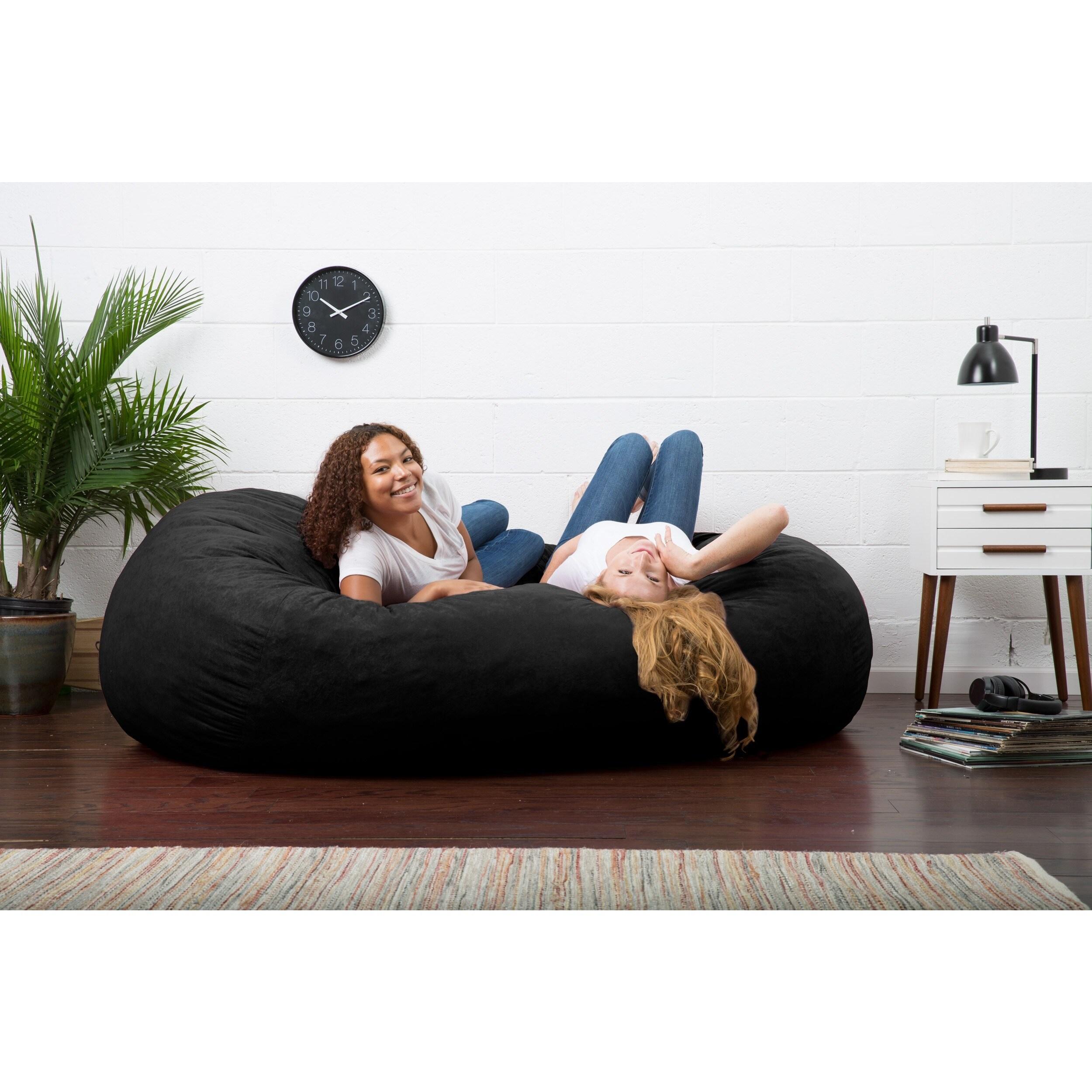 Xlarge Bean Bag Chair Memory Foam Beanbag Lounger 2 Person Lounge Dorm Sofa