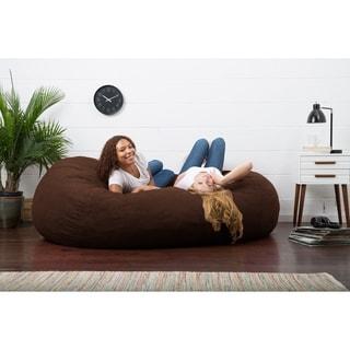 Big Joe XXL Fuf Microfiber Suede Bean Bag Chair