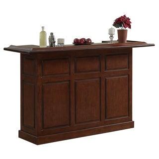 Huntley 72-inch Maple Wood Home Bar